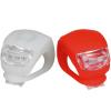 Kit Farol Silicone 2 LEDS - Dianteiro + Traseiro - Atrio BI050